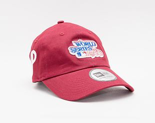 Kšiltovka New Era 9TWENTY MLB World Series Casual Classic Philadelphia Phillies Dadcap Scarlet