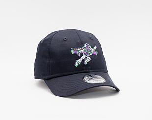 Kšiltovka New Era 9FORTY Kids Tod Disney Logo Buzz Lightyear Strapback Navy
