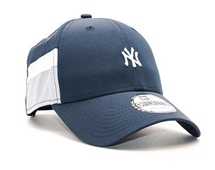 Kšiltovka New Era Side Block Curve New York Yankees 9FORTY Navy/Grey Strapback