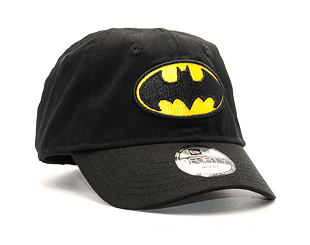 Dětská Kšiltovka New Era Hero Essential Batman 9FORTY Infant Black Strapback