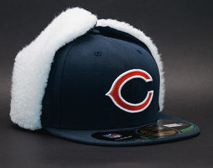 Kšiltovka S Klapkami New Era Lsg Dog Ear Chicago Bears 59FIFTY Official Team Color