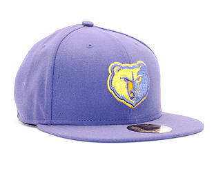 Kšiltovka New Era Seas Cont Memphis Grizzlies 59FIFTY Purple/Yellow