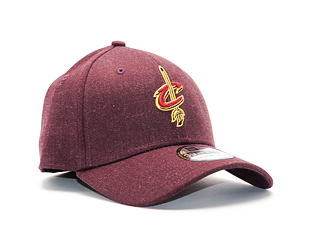 Kšiltovka New Era Heather Team Cleveland Cavaliers 39THIRTY Heather Maroon