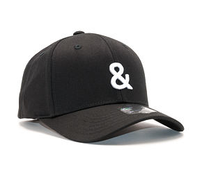 Kšiltovka State of WOW Ampersand SC9201-990& Baseball Cap Crown 2 Black/White Strapback