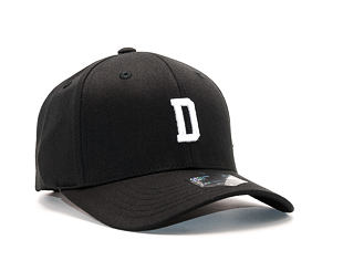 Kšiltovka State of WOW Delta SC9201-990D Baseball Cap Crown 2 Black/White Strapback