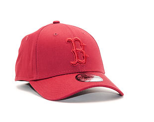 Kšiltovka New Era  League Essential Boston Red Sox 39THIRTY  Cardinal / Black