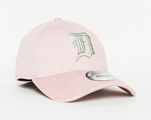 Kšiltovka New Era Jersey Brights Detroit Tigers 39THIRTY Pink Lemonade/Mint