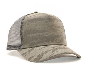 Kšiltovka New Era Af Trucker 3D Camo 9FORTY New Olive Snapback