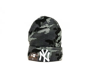 Dětský Kulich New Era Essential Camo Knit New York Yankees Child Marine Navy Camo/White