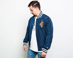 Bunda New Era Cleveland Cavaliers NBA Team Apparel Bomber Navy