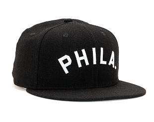 Kšiltovka New Era 9FIFTY Original Fit Philadelphia Phillies Coop Black/White Snapback