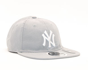 Kšiltovka New Era 9TWENTY New York Yankees Packable Gray/White Strapback
