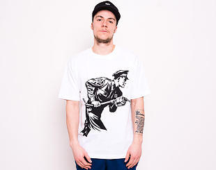 Triko OBEY Never Stop Charging Tee White 167291946-WHT