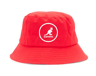 Klobouk Kangol K2117SP Cotton Bucket Rojo RJ600
