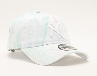 Kšiltovka New Era 9FORTY New York Yankees Pastel Sky Blue/White