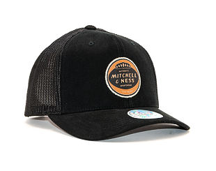 Kšiltovka Mitchell & Ness INTL452 115 Year Patch Black