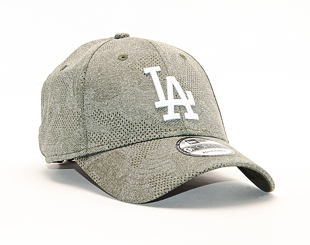 Kšiltovka New Era 9FORTY Engineered Plus Los Angeles Dodgers New Olive / Optic White Strapback