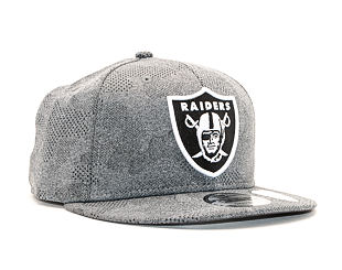 Kšiltovka New Era 9FIFTY Engineered Plus Oakland Raiders Gray / Black Snapback