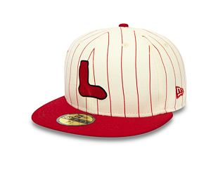 Kšiltovka New Era 59FIFTY Boston Red Sox Retro Coops Pack Off White/Scarlet