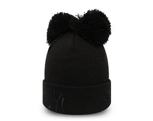 Kulich New Era New York Yankees Double Pom Cuff Knit Black/Black