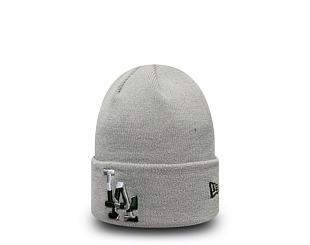 Dětský Kulich New Era Los Angeles Dodgers Camo Infill Knit Gray Youth