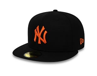 Kšiltovka New Era 59FIFTY New York Yankees Utility Black/Orange Glaze