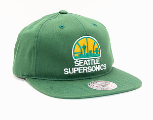Kšiltovka Mitchell & Ness Seattle Supersonics 462 Team Logo Deadstock Throwback