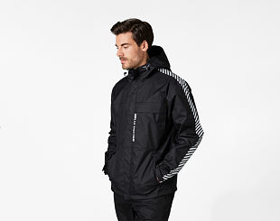 Bunda Helly Hansen Vector Packable Rain Jacket 990 Black