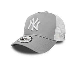 Kšiltovka New Era Clean Trucker 2 New York Yankees Grey White