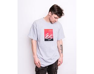 Triko éS Block Gradient Tee GREY HEATHER