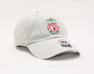 Kšiltovka 47 Brand Liverpool FC CLEAN UP Grey