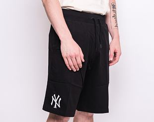 Kraťasy New Era New York Yankees Logo Jersey Shorts Black