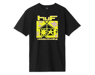 Triko HUF Deep House T-Shirt Black
