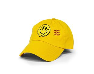 Kšiltovka Alumni Smiley Dad Hat Yellow