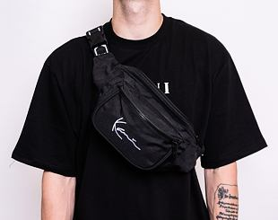Ledvinka Karl Kani Signature Waistbag Black - 4004163