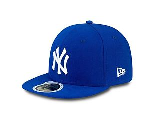 Dětská kšiltovka NEW ERA 59FIFTY Kids MLB League Basic New York Yankees Fitted Royal / Wheat