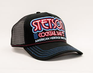 Kšiltovka Stetson Trucker Cap Cocktail Bar 7751173 Black