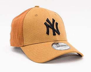 Kšiltovka New Era 9FORTY Multi Pop Panel New York Yankees Strapback Stone