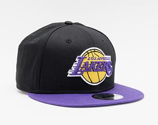 Kšiltovka New Era 9FIFTY NOS Los Angeles Lakers Snapback Black / Team Color