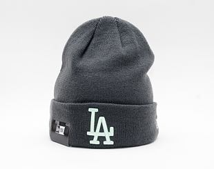 Kulich New Era MLB League Essential Cuff Knit Los Angeles Dodgers  Graphite