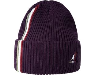 Kulich Kangol Color Bar Beanie Blackberry K3457-BB503