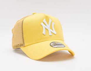 Dětská Kšiltovka New Era 9FORTY Kids A-Frame Trucker MLB Tonal Mesh New York Yankees Snapback Yellow