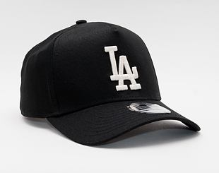 Kšiltovka New Era 9FORTY A-Frame MLB Color Essential Los Angeles Dodgers Snapback Black / Optic Whit