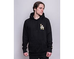 Mikina New Era MLB Metallic Hoody Los Angeles Dodgers Black/Gold
