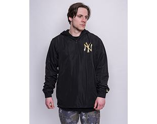 Bunda New Era MLB Metallic Windbreaker New York Yankees Black/Gold