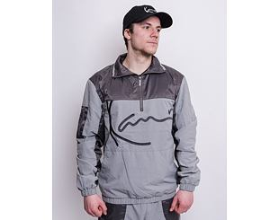 Bunda Karl Kani Signature Block Trackjacket Grey 6086989