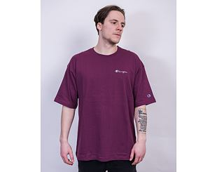 Triko Champion Oversized Crewneck T-Shirt 214282 WRE Wine Red