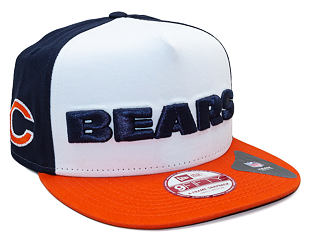 Kšiltovka New Era Fresh Script Chicago Bears Team Colors Snapback