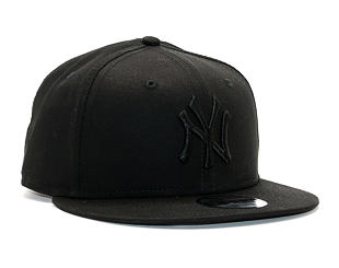 Kšiltovka New Era 9FIFTY MLB New York Yankees Snapback Black / Black