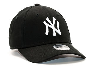 Dětská Kšiltovka New Era League Basic New York Yankees Black Youth 9FORTY Strapback
